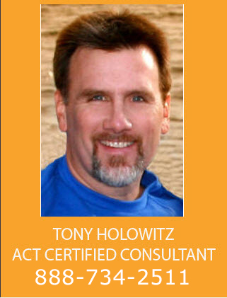 Tony Holowitz Act Certified Consultant