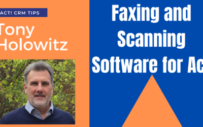 Faxing and Scanning Software for Act