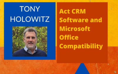 Act CRM Software and Microsoft Office Compatibility